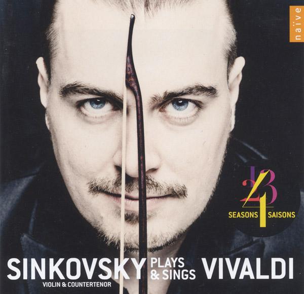 Sinkovsky Plays & Sings Vivaldi